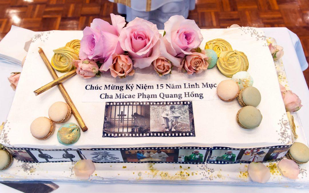 Lễ Tạ Ơn Cha Hồng 15 năm LM 16May2021